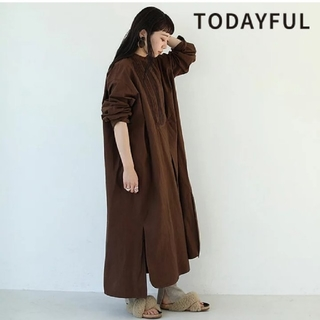 TODAYFUL - TODAYFUL トゥデイフル 秋冬 Pintuck Shirts Dress