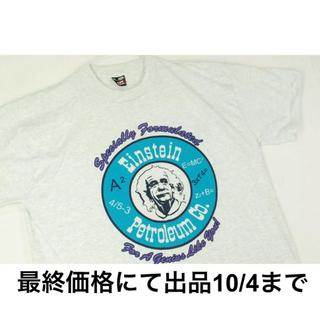 ヘインズ(Hanes)の超希少!アインシュタインArtビンテージ 90s Tシャツ BEST USA(Tシャツ/カットソー(半袖/袖なし))