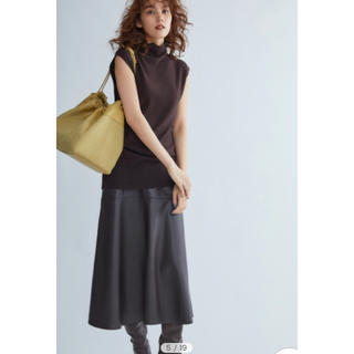 Mila Owen - ミラ オーウェン フェイクレザーマーメイドミディスカート 大人気💛公式完売中