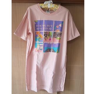 スカラー(ScoLar)のscolar スカラ子 ロングTシャツ ワンピース(Tシャツ(長袖/七分))