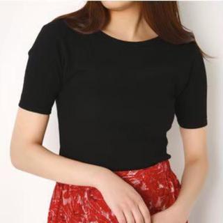スライ(SLY)のSLYバックオープンTスライ マウジーザラエモダラグアジェイダエブリスムルーア(Tシャツ(半袖/袖なし))