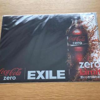 コカコーラ(コカ・コーラ)のおまけOKそよ●36 クリアファイル☆EXILE☆コカコーラオリジナル(クリアファイル)