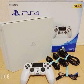 PlayStation4 - PS4 本体 500GB ホワイト 値下げしました!