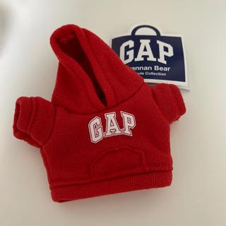 ギャップ(GAP)のGAP ガチャ パーカー 赤 レッド(ぬいぐるみ)