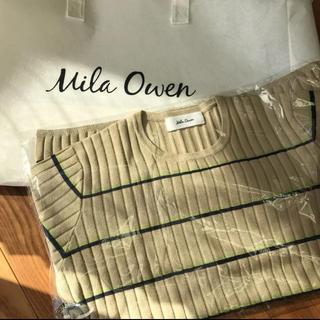 ミラオーウェン(Mila Owen)の美品 ミラオーウェン  ニットセーター(ニット/セーター)
