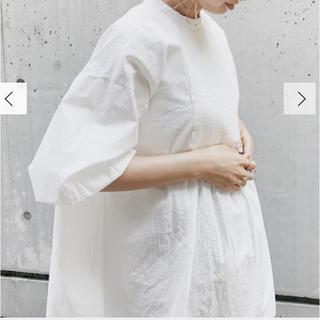 アングリッド(Ungrid)のハイネックバックオープンドレスシャツ(シャツ/ブラウス(長袖/七分))
