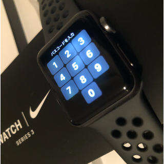 Apple Watch - Apple Watch 3 nike 本体 38mm