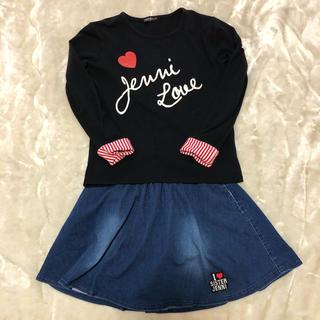 ジェニィ(JENNI)のJENNI  Tシャツ・デニムスカート(Tシャツ/カットソー)