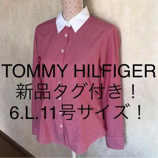 トミーヒルフィガー(TOMMY HILFIGER)の☆TOMMY HILFIGER/トミーヒルフィガー☆新品タグ付き☆長袖ブラウス6(シャツ/ブラウス(長袖/七分))