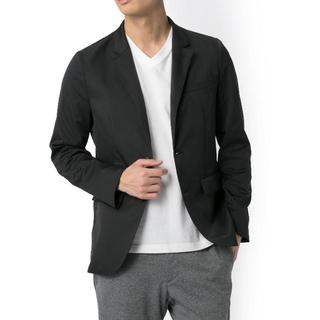 アディダス(adidas)のアディダス adidas コラボ ジャケット テーラード スーツ 黒 L(テーラードジャケット)