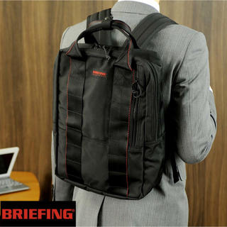 BRIEFING - ★BRIEFING★背負えるビジネスバック★定価39,600円★