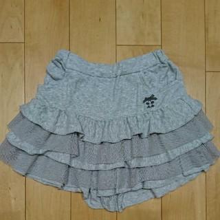 ベベ(BeBe)のBeBe☆パンツ キュロット スカート フリル チュール キッズ 120(パンツ/スパッツ)