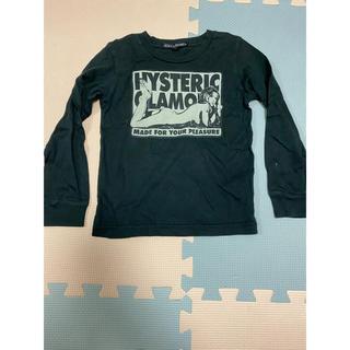 JOEY HYSTERIC - ジョーイヒステリック ロンT トップス S 黒 ブラック