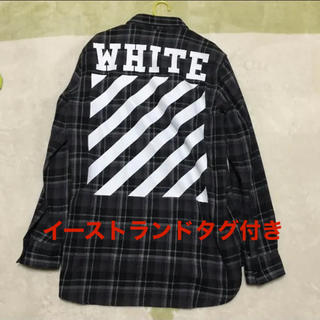 OFF-WHITE - off-white タータンチェック シャツ