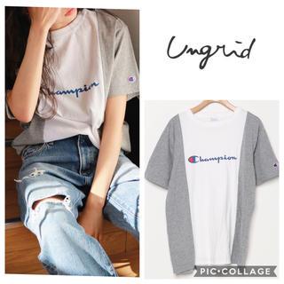 アングリッド(Ungrid)のUngrid**championリメイクtee(Tシャツ(半袖/袖なし))