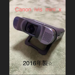 キヤノン(Canon)の美品☆Canon ivis mini x  デジタルカメラ アクションカメラ(ビデオカメラ)