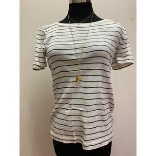 アングリッド(Ungrid)のアングリッド Ungrid ボーダー Tシャツ(Tシャツ(半袖/袖なし))