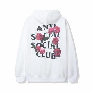 アンチ(ANTI)のAnti Social Smells Bad Hoodie White S(パーカー)