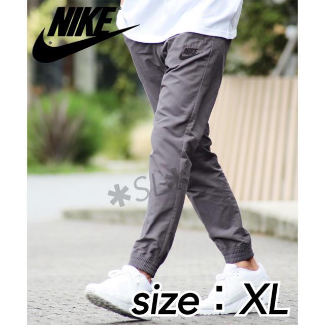 NIKE(ナイキ)の新品 NIKE ナイキ ジョガーパンツ プレイヤーズ ウーブン グレー  XL メンズのパンツ(その他)の商品写真
