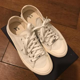 Y's - Y's ワイズ 美品 白いスニーカー