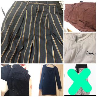 セシルマクビー(CECIL McBEE)のまとめ売り 洋服 ワンピース ズボン トップス シャツ(セット/コーデ)