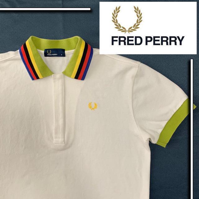 FRED PERRY(フレッドペリー)の美品 fred perry s/s ポロシャツ サマーカラー メンズのトップス(ポロシャツ)の商品写真