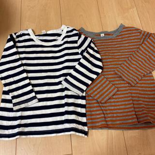 ムジルシリョウヒン(MUJI (無印良品))の無印 ボーダーシャツセット(Tシャツ/カットソー)