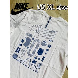 NIKE - 新品 NIKE ナイキ NSW Tシャツ ワールドワイド ホワイト US XL