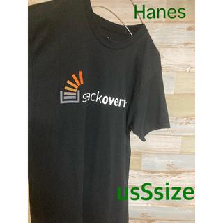 ヘインズ(Hanes)のTシャツ アメリカ輸入物 Stackoverflow BOXLOGO Tee(Tシャツ/カットソー(半袖/袖なし))
