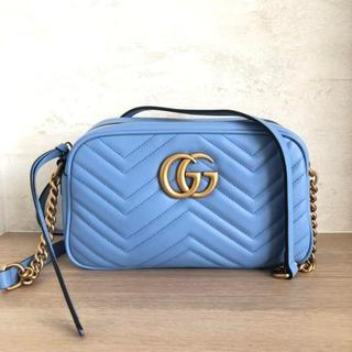 Gucci - GUCCI 【GGマーモント】 キルティングショルダーバッグ