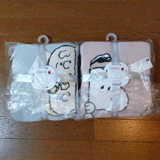 GU - 【新品】GU ジーユー  スヌーピー  ラウンジセット グリーン ピンク セット