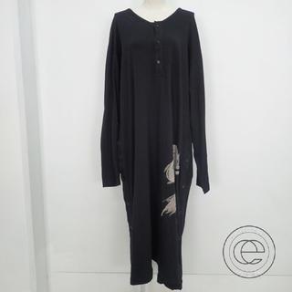 ヨウジヤマモト(Yohji Yamamoto)のサイズ3 ヨウジヤマモト ロングTシャツシャツ(Tシャツ/カットソー(半袖/袖なし))