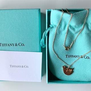 Tiffany & Co. - ティファニー ダヴペンダントk18