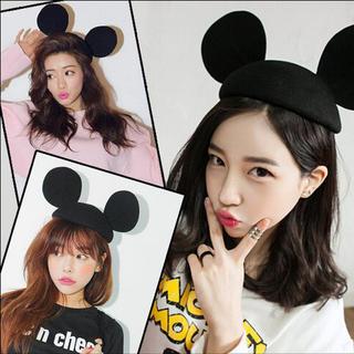 ディズニー(Disney)のミッキー 帽子(ハンチング/ベレー帽)
