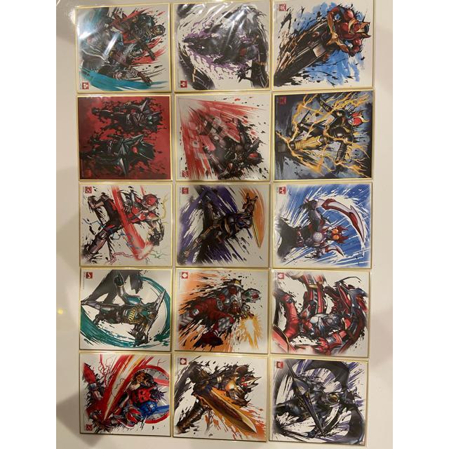 仮面ライダー色紙ART 各種 エンタメ/ホビーのフィギュア(特撮)の商品写真