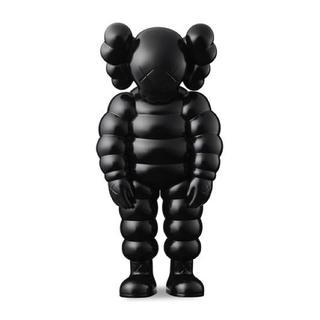 メディコムトイ(MEDICOM TOY)のkaws what party figure black 黒 ブラック カウズ(ぬいぐるみ)