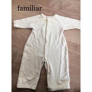 ファミリア(familiar)のファミリア ロンパース  50-65(ロンパース)