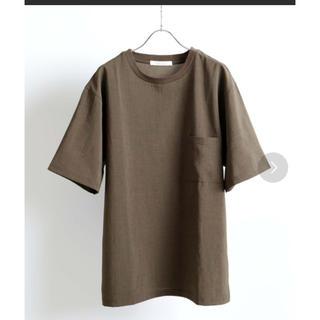 ジャーナルスタンダード(JOURNAL STANDARD)のTシャツ 半袖 オリーブ Mサイズ(Tシャツ/カットソー(半袖/袖なし))
