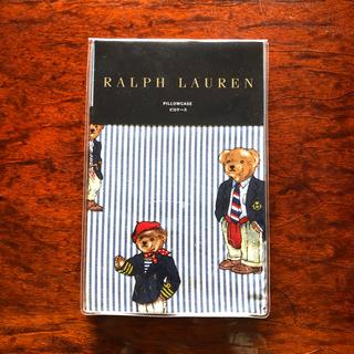 ラルフローレン(Ralph Lauren)のRalph Laurenポロベアー ピローケース新品未使用(シーツ/カバー)