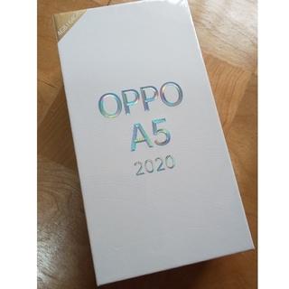 ★未開封  オッポー  OPPO A5 2020  シムフリー(スマートフォン本体)