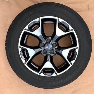 スバル(スバル)の現行スバルXV純正17インチアルミ+タイヤ4本セット(タイヤ・ホイールセット)