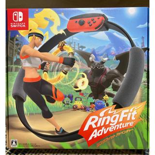 ニンテンドースイッチ(Nintendo Switch)のリングフィット アドベンチャー Switch 新品未使用 在庫ご確認ください(家庭用ゲームソフト)