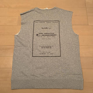 エムエムシックス(MM6)のMM6 Maison Margiela ノースリーブスウェットシャツ(Tシャツ(半袖/袖なし))