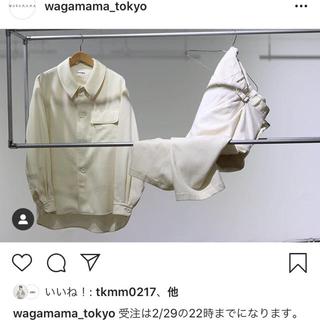 コモリ(COMOLI)のrakines wagamama別注 セットアップ 新品未使用タグ付き(スラックス)
