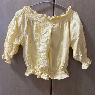 ウィゴー(WEGO)のオフショル(シャツ/ブラウス(半袖/袖なし))