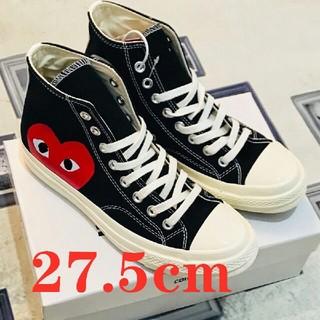 コムデギャルソン(COMME des GARCONS)の27.5cm 海外限定 ギャルソンCT HI 黒(スニーカー)