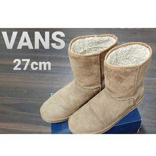 ヴァンズ(VANS)のVANSバンズ ムートンブーツ ブラウン (ブーツ)