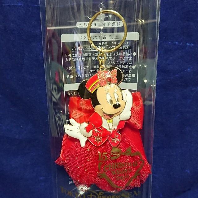 Disney(ディズニー)のディズニーシー 2016年 クリスマス ウィッシュ キーチェーン 未開封 新品 エンタメ/ホビーのおもちゃ/ぬいぐるみ(キャラクターグッズ)の商品写真