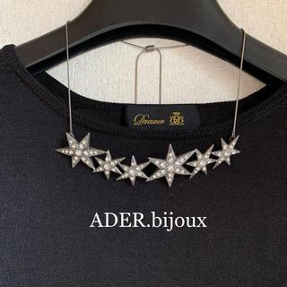 UNITED ARROWS - ADER.bijoux アデル ビジュー スター ネックレス