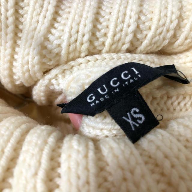 Gucci(グッチ)の大幅値下げ!gucci グッチ ノースリーブニット リブニット  レディースのトップス(ニット/セーター)の商品写真